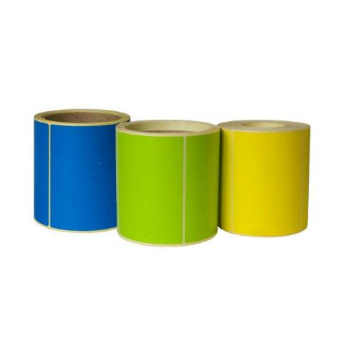 Термоэтикетка цветная 30 х 20 (2000 шт.)