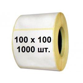 Термоэтикетка 100х100 (1000 шт.)