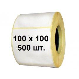 Термоэтикетка 100х100 (500 шт.)