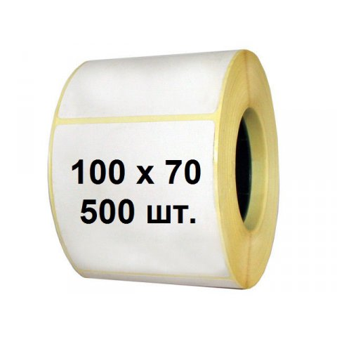 Термоэтикетка 100 х 70 (500 шт.)