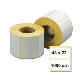 Термоэтикетка 48х22 (1000 шт.)
