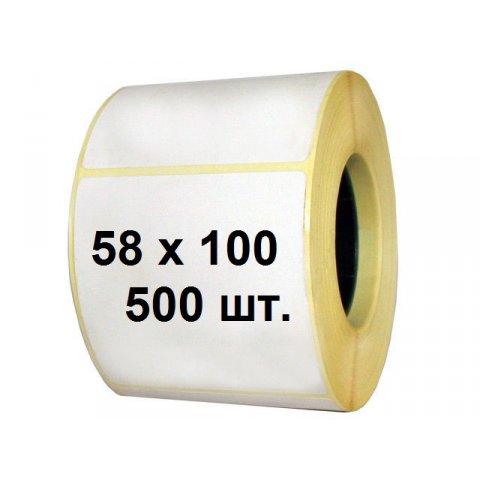 Термоэтикетка 58 х 100 (500 шт.)