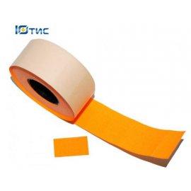 Этикет-лента 26 х 16 (оранжевая прямоугольная)
