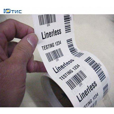 Этикетка без подложки LinerLess