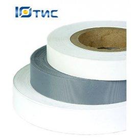 Тканая этикетка сатин премиум 15 мм х 200 метров